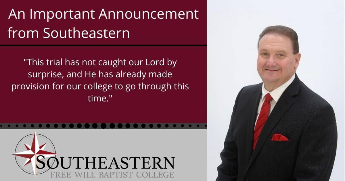 An Important Announcement from Southeastern